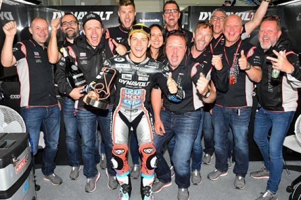 В Германии на трассе Заксенринг состоялся Девятый этап Чемпионата Мира по мотогонкам.