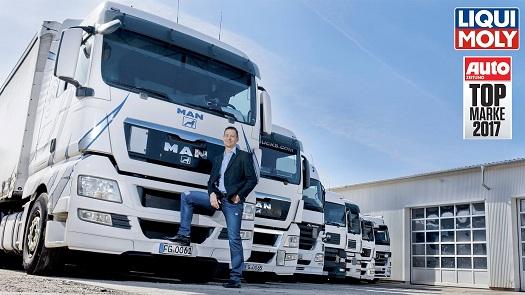 В категории Масла для грузовиков Компания LIQUI MOLY признана лидером.