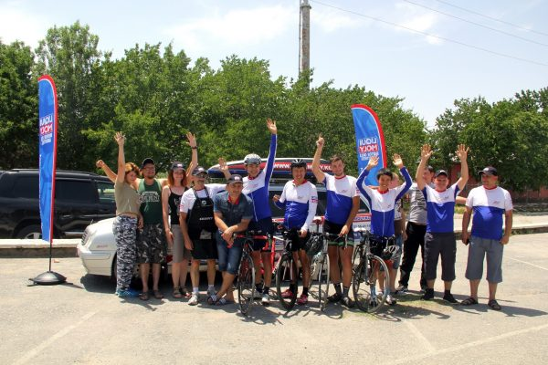 Краткий фотоотчёт о завершении Грандиозного события — Вело марафона «Ынтымак» Каракол-Баткен.