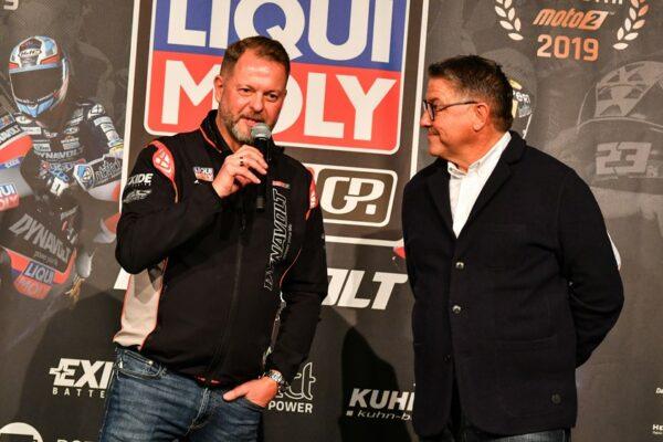 Компания LIQUI MOLY — Главный спонсор команды Moto2!