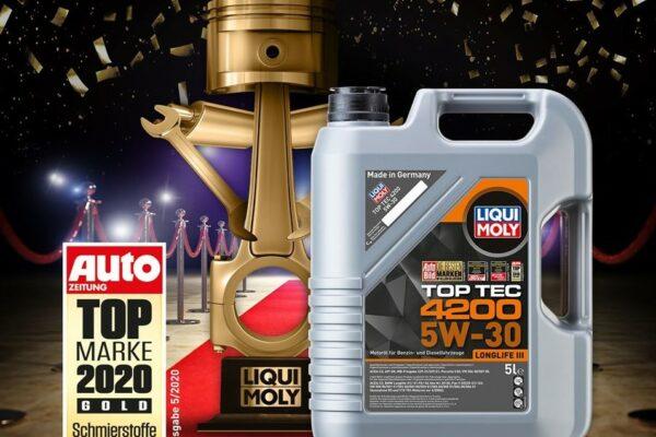 LIQUI MOLY десять лет подряд бренд №1 в Германии!